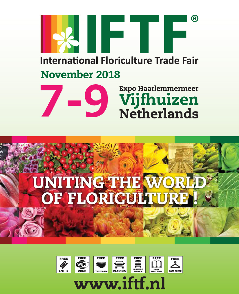 IFTF International Floriculture Trade Fair 2018