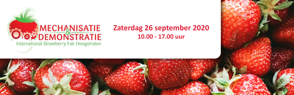 International Mechanisation and Demonstration fair Strawberry 2020