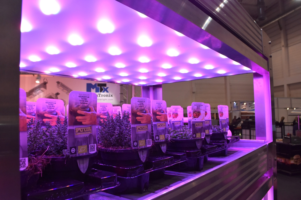 The new equipment - CoolGrow® VF Vertical Farming
